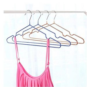 VASTRA Non Slip Metal Clothes Hanger for Clothes, Shirts Dress Space Saving Adult Hanger