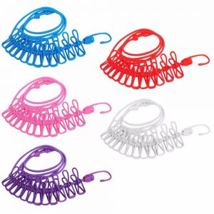 Vastra Portable Multi Functional Drying Rope with 12 Clips
