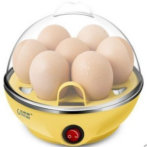 Vastra Egg Boiler Electric Automatic Off 7 Egg Poacher for Steaming, Cooking, Boiling and Frying, Multicolour
