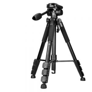 Professional Flexible Tripod for SLR Digital Camera with Pan Head Carrying Bag